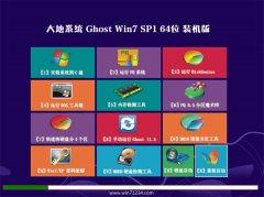 大地系统Win7 64位 专业装机版 2021.04