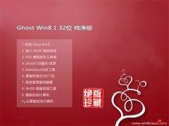 通用系统Windows8.1 2021.04 32位 安全纯净版